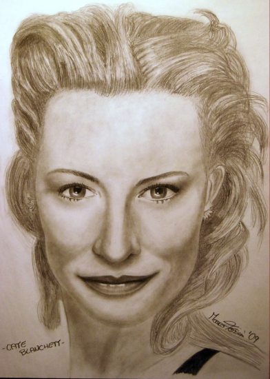 Cate Blanchett par marcofe78